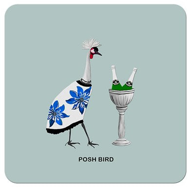 Posh Bird | Drinks Coaster