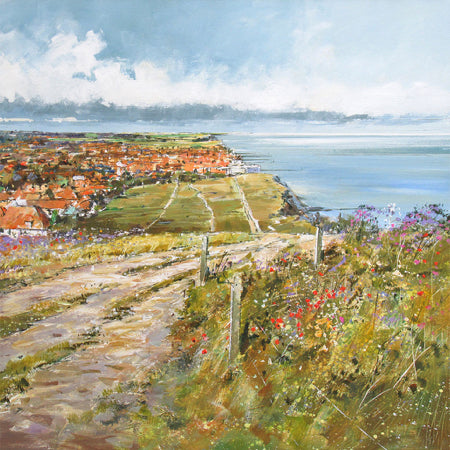 Sheringham from Beeston Bump, Norfolk