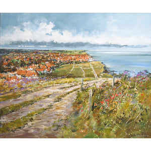 Michael Sanders | Sheringham from the Bump | Limited Edition  Print | Free Shipping