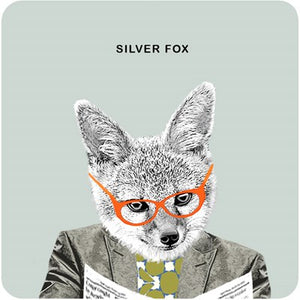 Silver Fox | Drinks Coaster