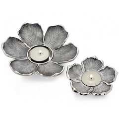 Silver Flower Tea Light Holders Red Lobster Gallery