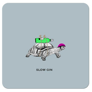 Slow Gin | Drinks Coaster