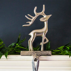 Stag Christmas Stocking Hook