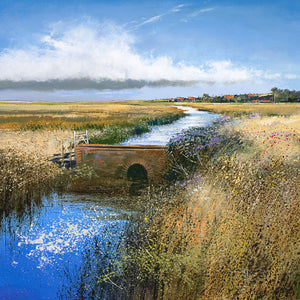 Summer at Salthouse, Limited Edition Unframed Print