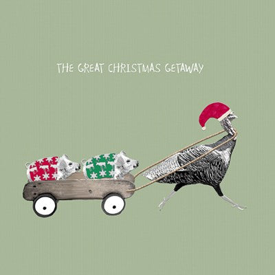 The Great Christmas Getaway | Christmas Card