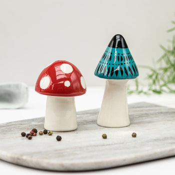 Toadstool sat & Pepper Set Red Lobster Gallery