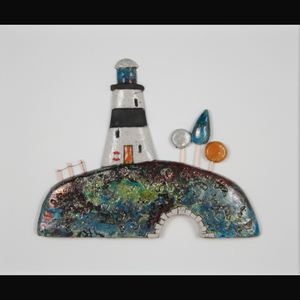 Lighthouse Garden Framed - CLICK AND COLLECT ONLY