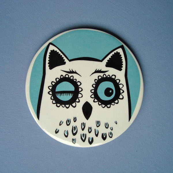 Owl Coasters Set of 4