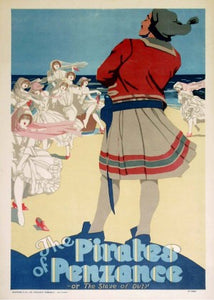 The Pirates of Penzance 1910-1920 Original Vintage Poster