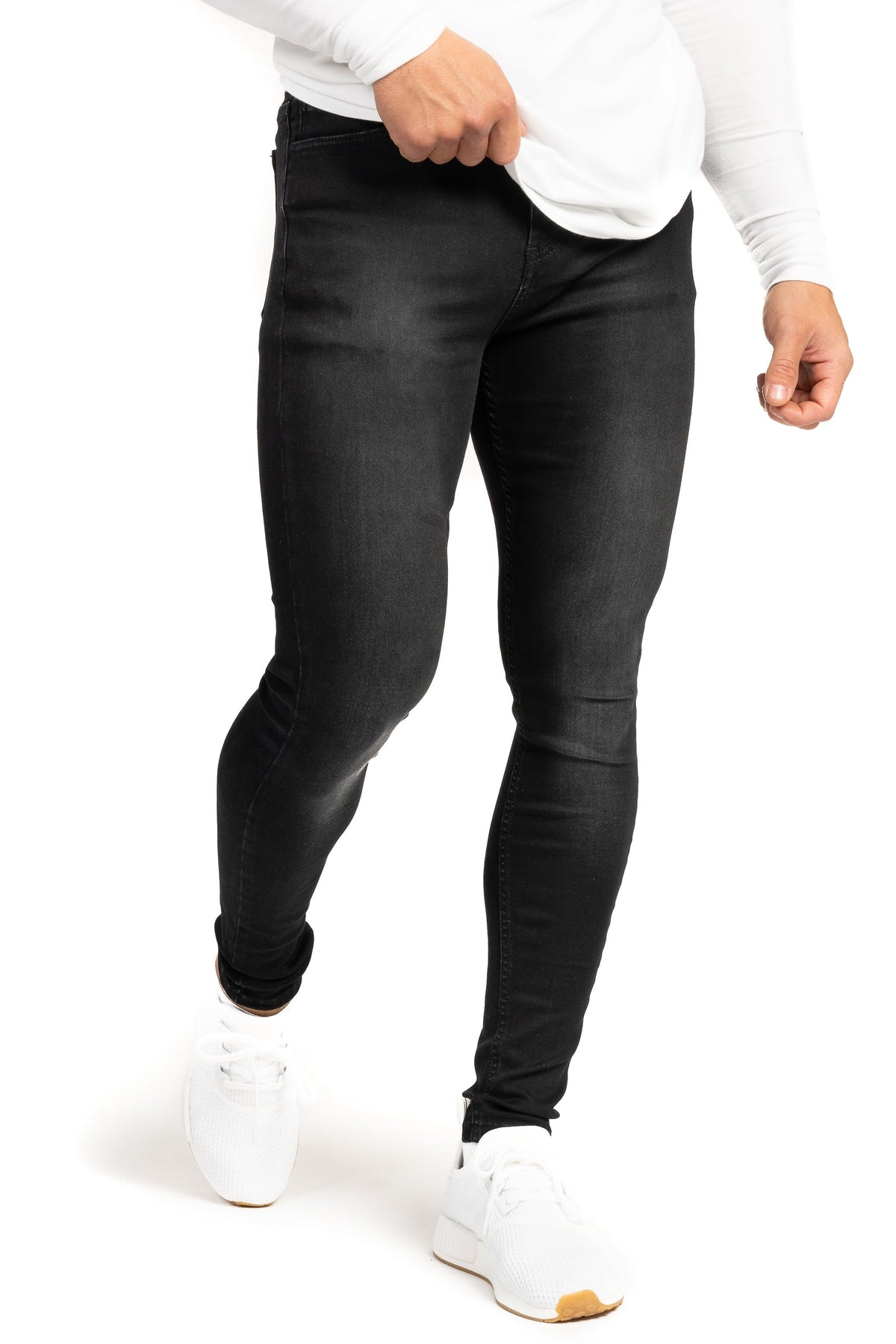 Mens Regular Fitjeans - Grey Shade