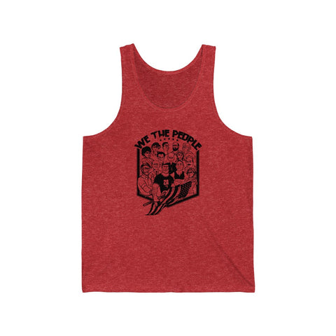 "BTD UNITED ""WE THE PEOPLE""  Unisex Jersey Tank"