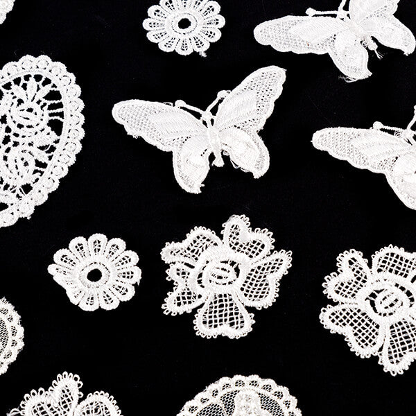 Craft Buddy 50 Assorted Lace Motifs