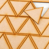 Lynette Jasper - Pretty Gets Gritty MDF Gritty Trading Shapes Triangles