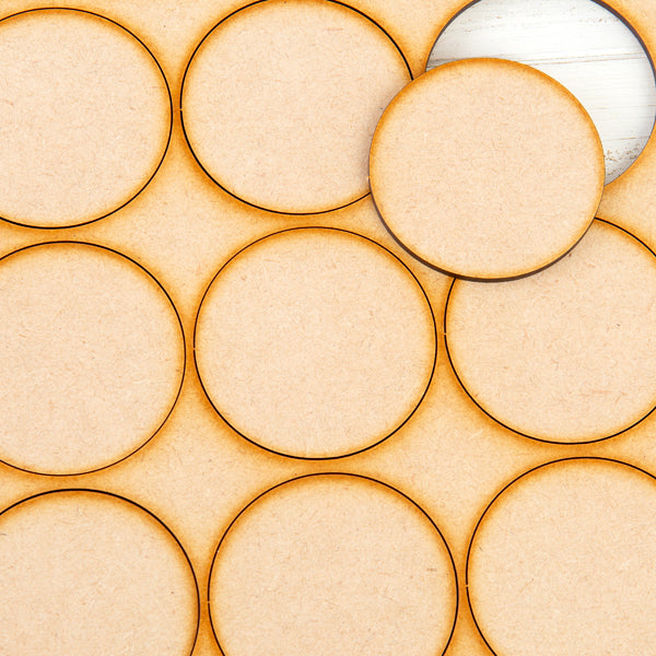 Pretty Gets Gritty - MDF Gritty Trading Shapes Circles