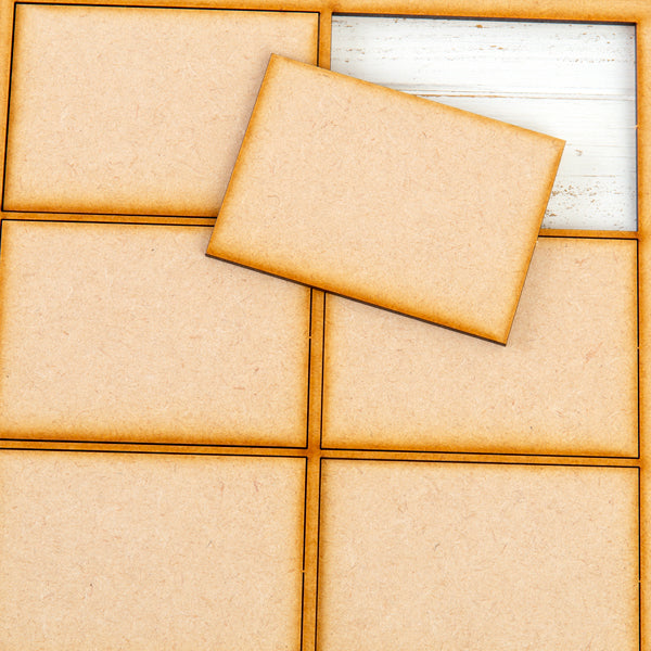 Pretty Gets Gritty - MDF Gritty Trading Shapes Rectangles