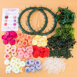Craft Buddy Forever Flowers Kit Festive - With Wreath Accessory Kit
