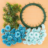 Craft Buddy Begonia Wreath Making Kit
