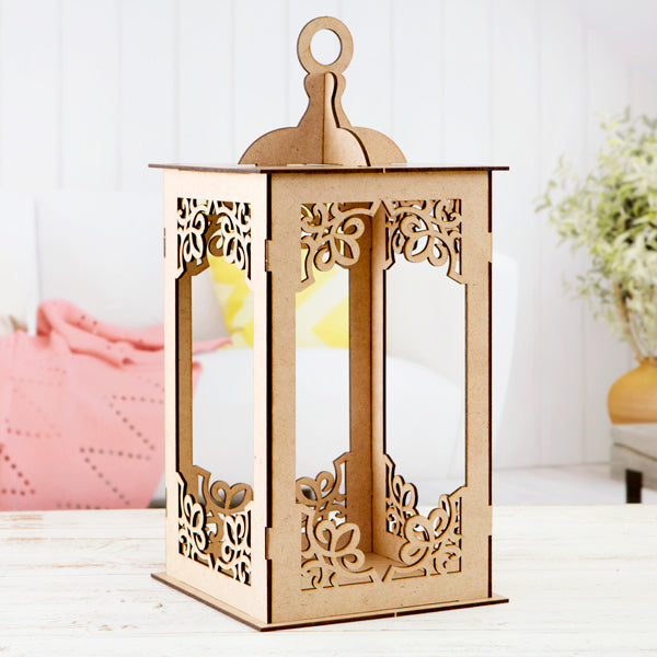 Pretty Gets Gritty Ornate MDF Lantern Kit