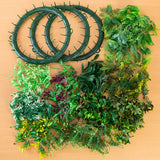 Craft Buddy Forever Flowers Wreath and Leaves Bumper Kit