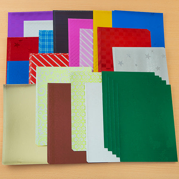 Metallic Card Assortment - Pack of 95 Sheets