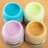 Pretty Gets Gritty - Set of 4 Chalky Acrylic Paint - Butternut, Lime, Miami, Blush