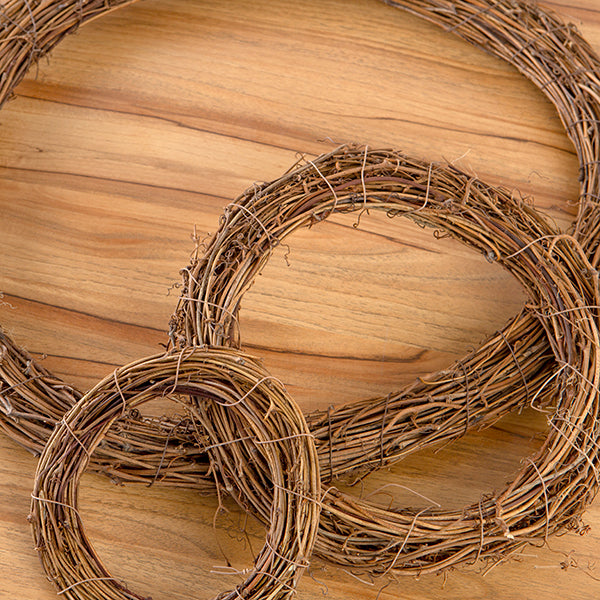 Organic Wreaths - Set of 3
