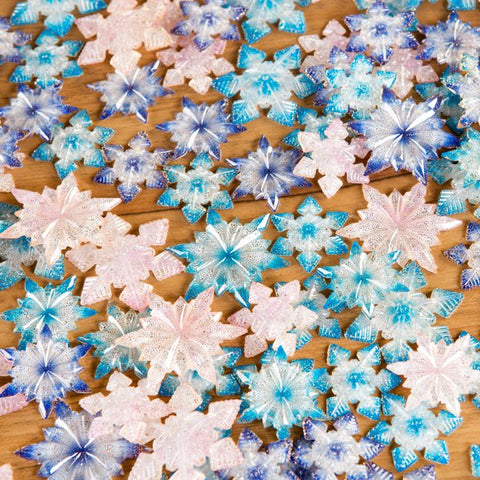 Luxury Acrylic Snowflakes Assortment - Frozen