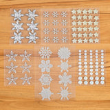 Snowflake and Star Adhesive Gems Assortment
