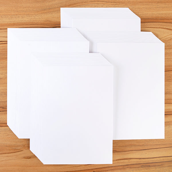 100 Sheets of Premium A4 Stamping Card 270gsm