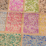 Craft Buddy Set of 10 Packs of Self-Adhesive Double Colour Rhinestones and Pearls