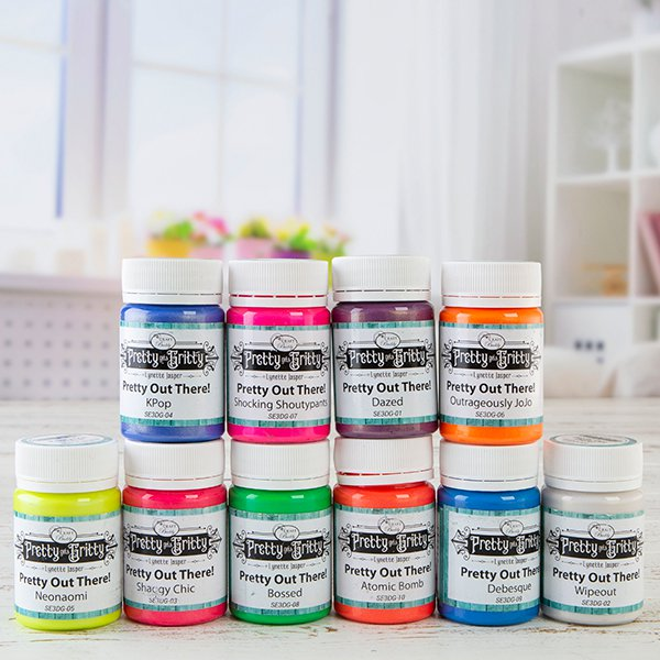 Acrylic Texture Gel Complete Collection - 10 x 60ml Pots