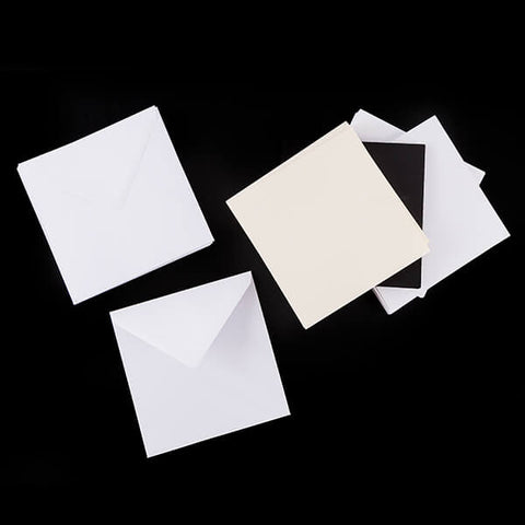 "Set of 50  8x8"" Card Blanks"