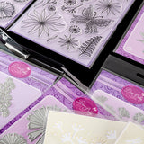 "'Fantasy Flowers 2018' Dies, Stamps & Stencils With Bonus 6"" Papers Worth £8.99"
