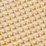 6 Sheets of Gold and Silver Metallic Round Gems