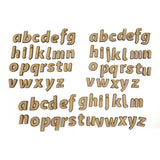 Lynette Jasper 78pcs Lowercase MDF Alphabet Pieces