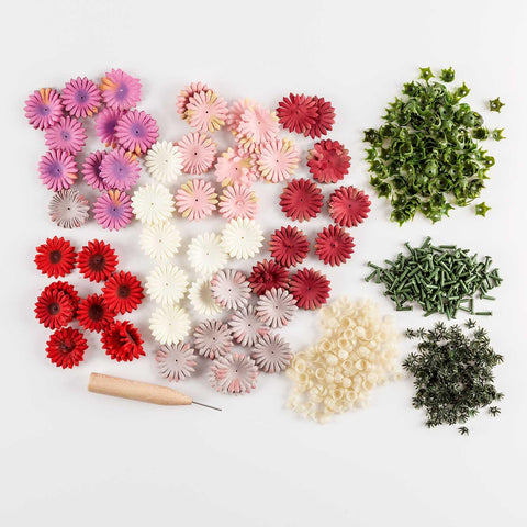 Flower Making Kit with Tool - Makes 200 Flowers
