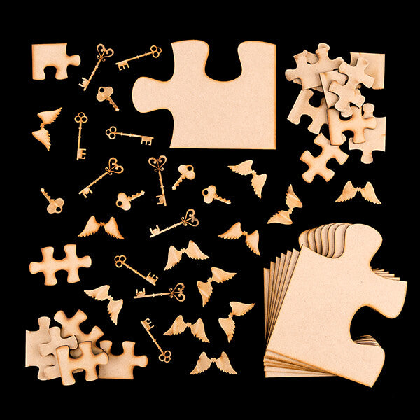 Lynette Jasper Pretty Puzzled MDF Collection