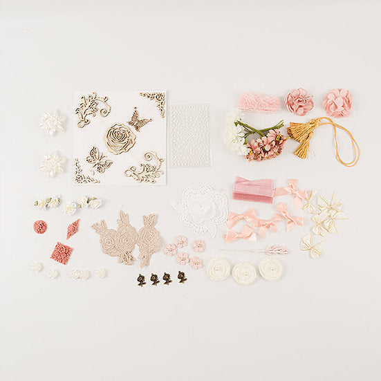 Treasure Chest Summer Embellishment Kit