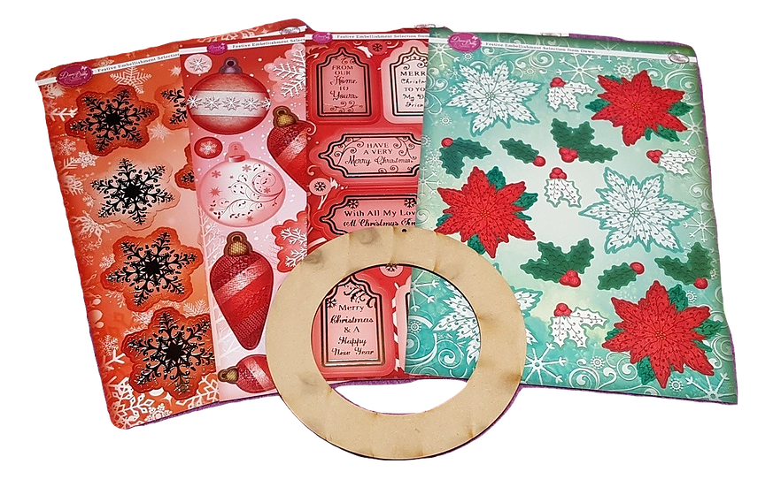 Wreath Making Kit - Round