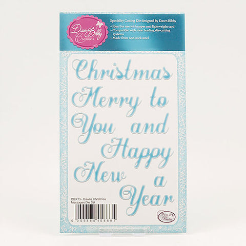 Christmas Message Die Set (DBX13)