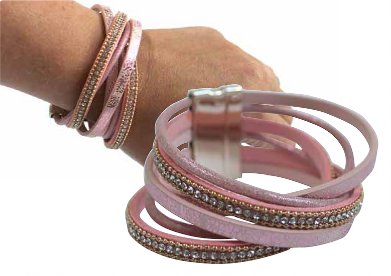California Bracelet Kit - Pink and Gold