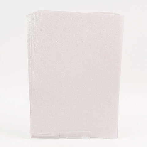 10 X A4 Self Adhesive Glitter Acetate Sheets