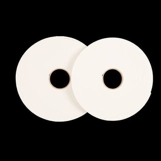 1 x 40meters x 2mm - White 3D Double Sided Jumbo Foam Tape