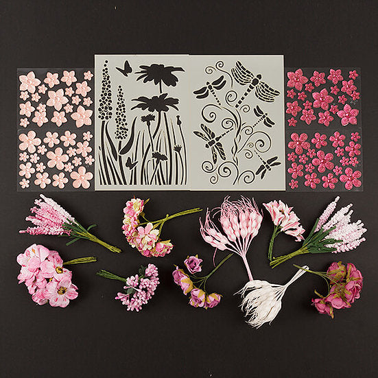 Organic Florals Collection KIT - 2 OPTIONS