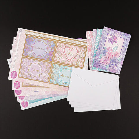 Fantasy Flower Twisty Pop Up Concept Card Kit
