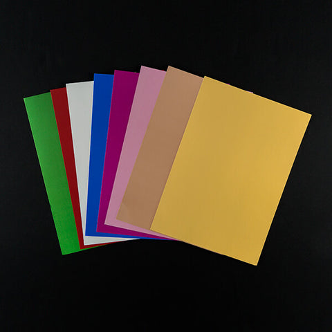 90 sheets of satin foil card - 250gsm