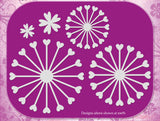 Charlee Flower Die Set