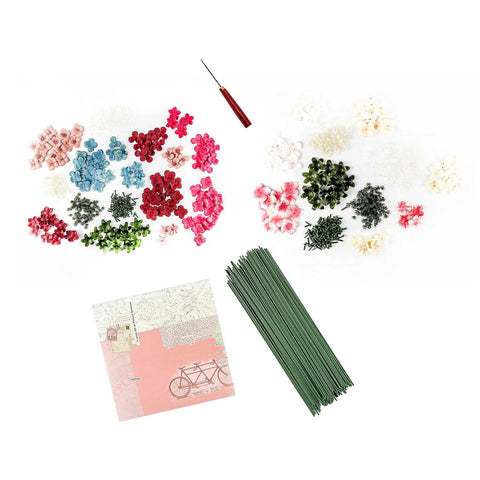 Craft Buddy Rose Making Complete Set - Inc Tool, 200 Florist Wires & Free Paper Pad worth £7.99