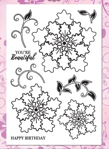 Janita Blooms Premium Stamp Set