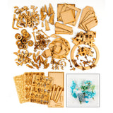 Pretty Gets Gritty MDF Collection with Free Wired Flowers Kit worth £19.99